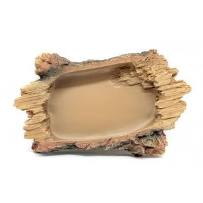 Ecuelle effet bois coupé - Terratlantis