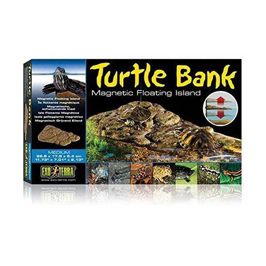 Turtle bank - Plage pour tortue aquatique