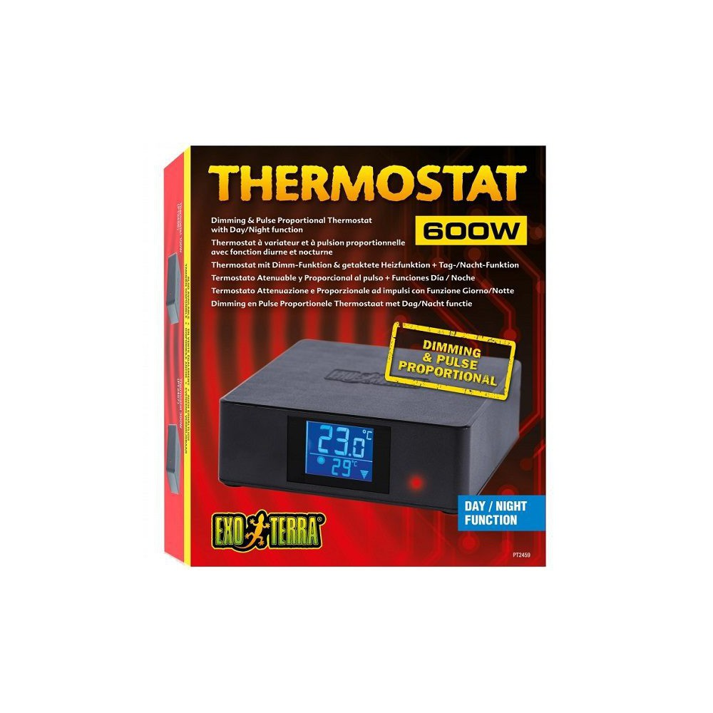 Thermostat Dimming & Pulse Proportionnal - Exo Terra