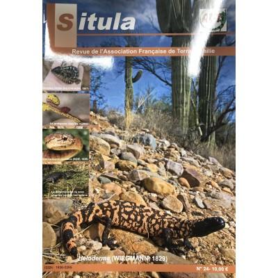 Situla n°24 : prolapsus chez les reptiles, Heloderma, déterminisme du sexe