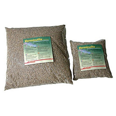Vermiculite pour incubation...