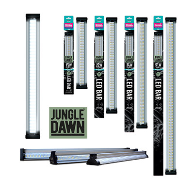 "Rampe LED BAR ""Jungle dawn""..."