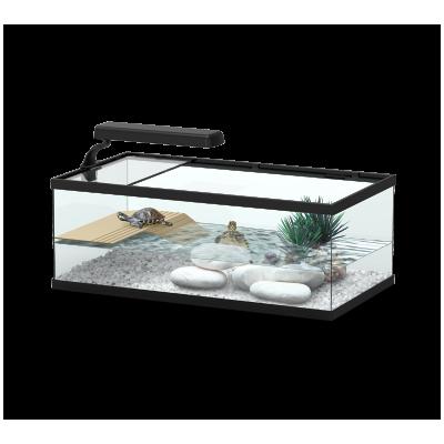 Aquaterrarium pour tortue...