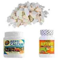 Compléments alimentaires pour reptiles